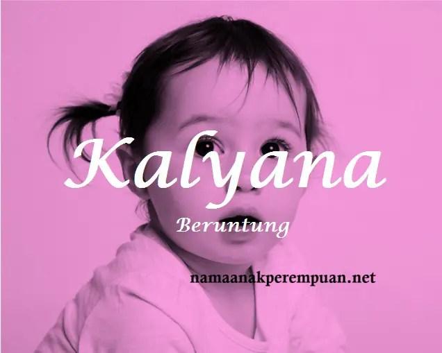 arti nama Kalyana