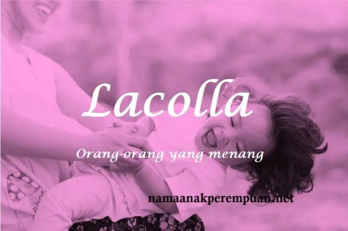 arti nama Lacolla