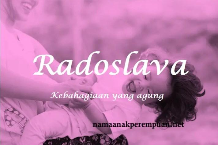arti nama Radoslava