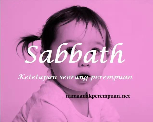 arti nama Sabbath