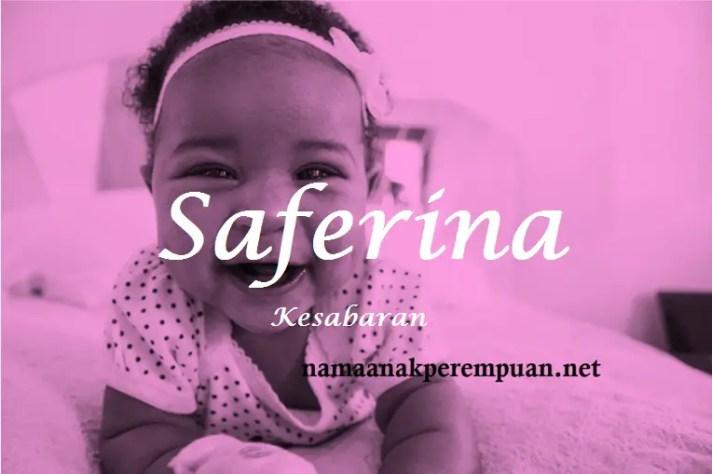 arti nama Saferina