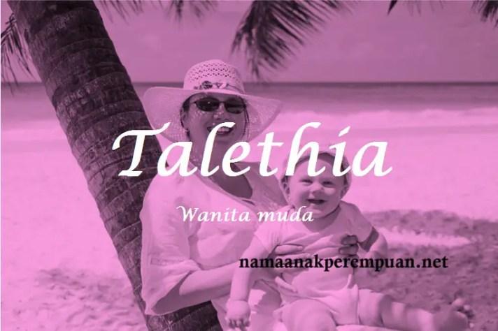 arti nama Talethia