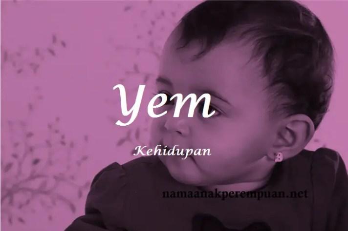 arti nama Yem