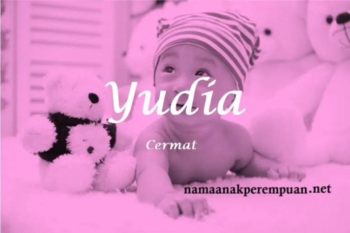 arti nama Yudia