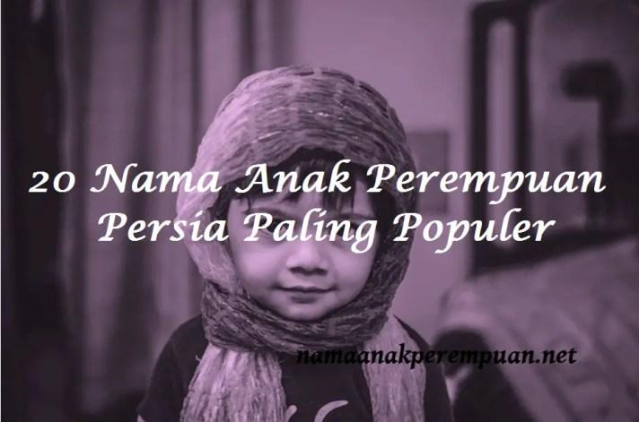 Nama Anak Perempuan Persia