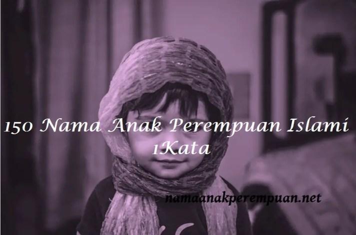 nama anak perempuan islami 1 kata