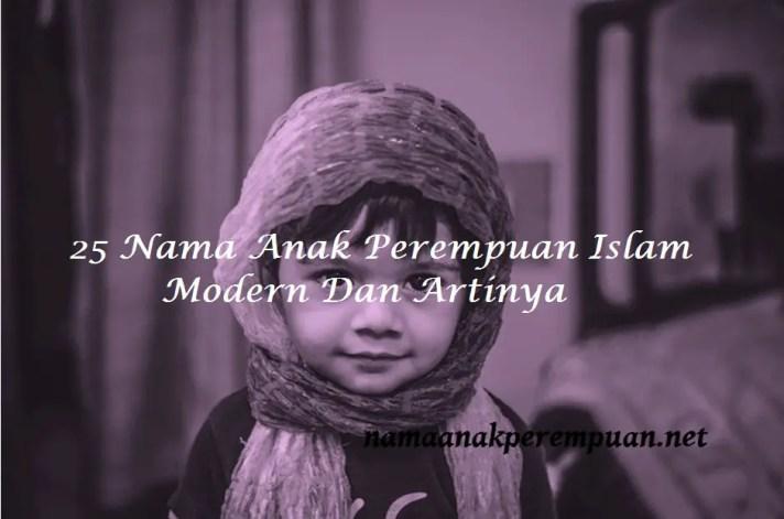 Nama Anak Perempuan Islam Modern Dan Artinya