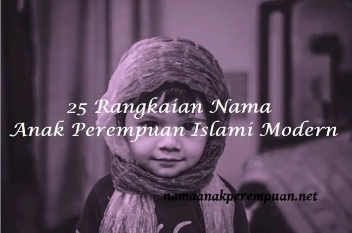Nama Anak Perempuan Islami Modern