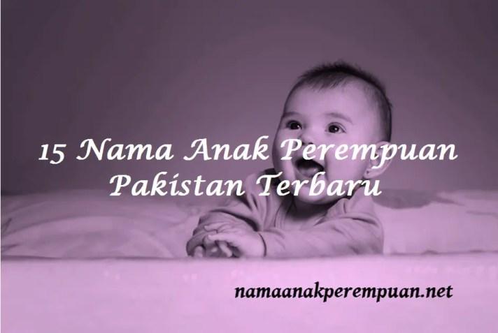 Nama Anak Perempuan Pakistan