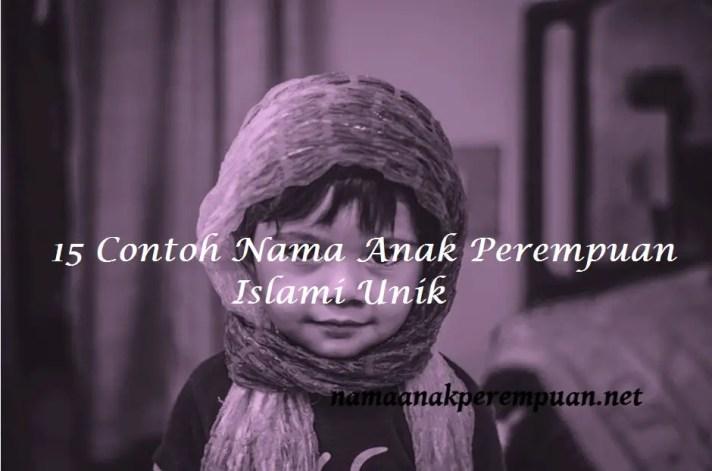 Nama Anak Perempuan Islami Unik
