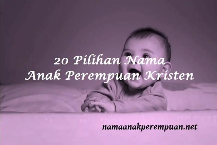 Nama Anak Perempuan Kristen