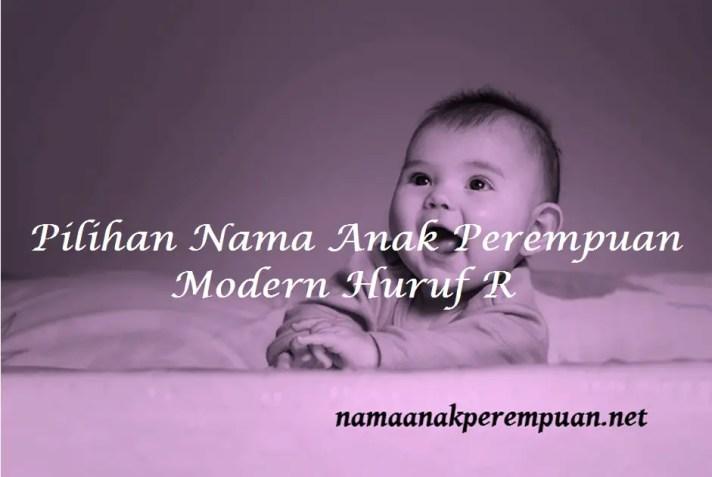 Nama Anak Perempuan Modern Huruf R