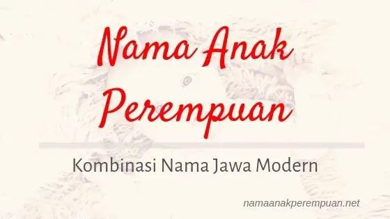 Nama Anak Perempuan Jawa Modern