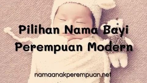 Pilihan Nama Bayi Perempuan Modern