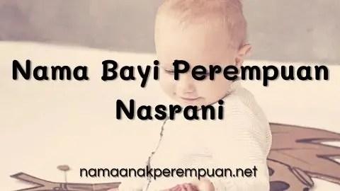 Nama Bayi Perempuan Nasrani