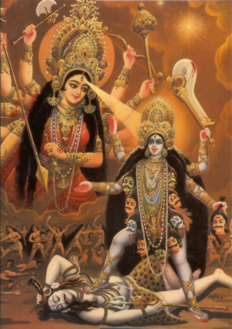 BHAKTI SONGS AND WALLPAPER: Lord Kali Ma Photos