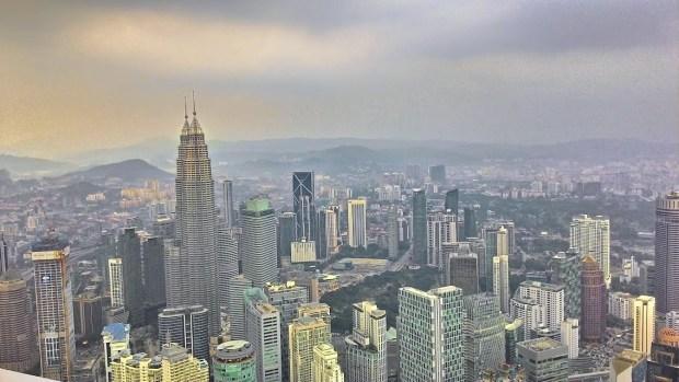 pemandangan dari KL Tower
