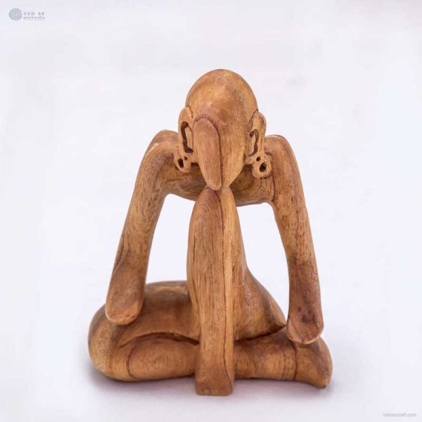 NA-deep-in-thought-wooden-handmade-abstract-sculpture-gift-art-home-decor-figurine-yoga-pose-collection