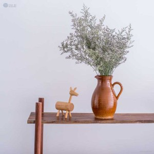 NA-handmade-ceramic-jug-brown-coloured