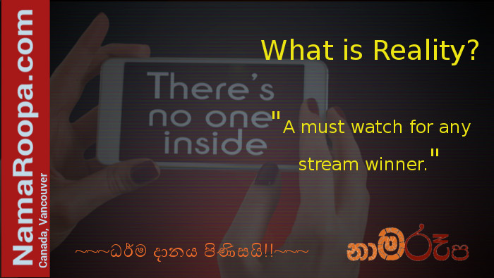 What is Reality? – You May Question it Yourself after Watching this…