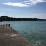 野島漁港の釣り場紹介(和歌山中紀)潮通し抜群のエギング堤防