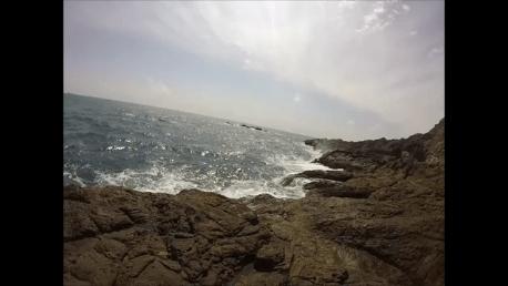 樫野崎の釣り場紹介(和歌山南紀)潮通しの良い串本大島の東端