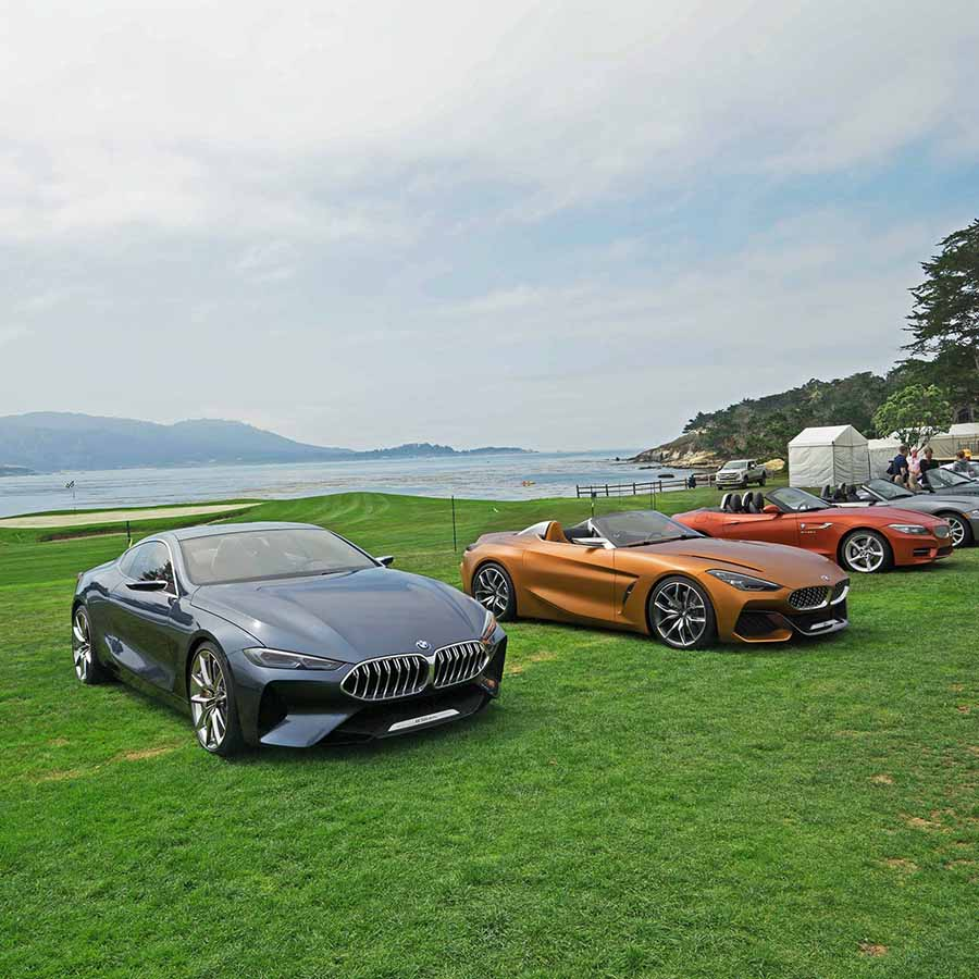 2017 Bmw Z4: BMW Z4 And 8 Series Concepts At Pebble Beach