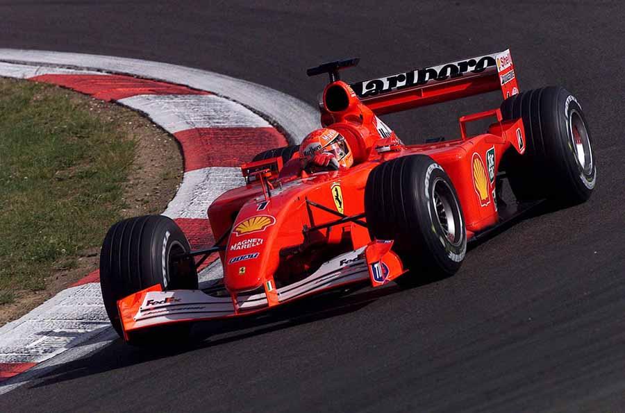 Michael Schumacher S 2001 Ferrari F2001 Namastecar