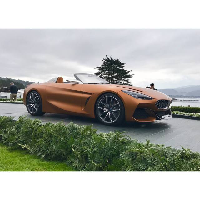 Bmw Z4 Convertible Sports Car: 2019 BMW Z4 Concept
