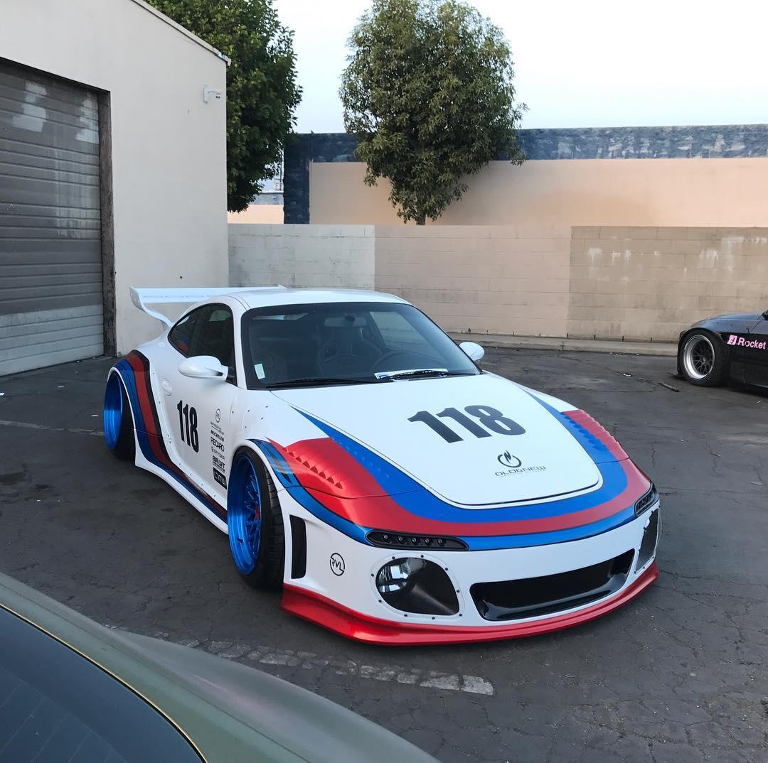 997 Porsche 911 Slantnose By Old & New