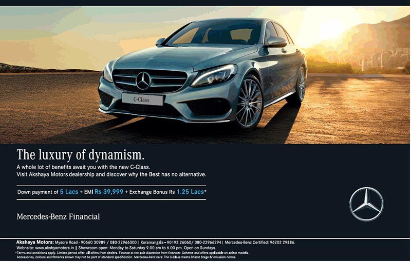 Delightful Get EMI Of Rs. 39,999 On Mercedes Benz C Class With Down Payment Of Rs. 5  Lakhs   Namaste Car