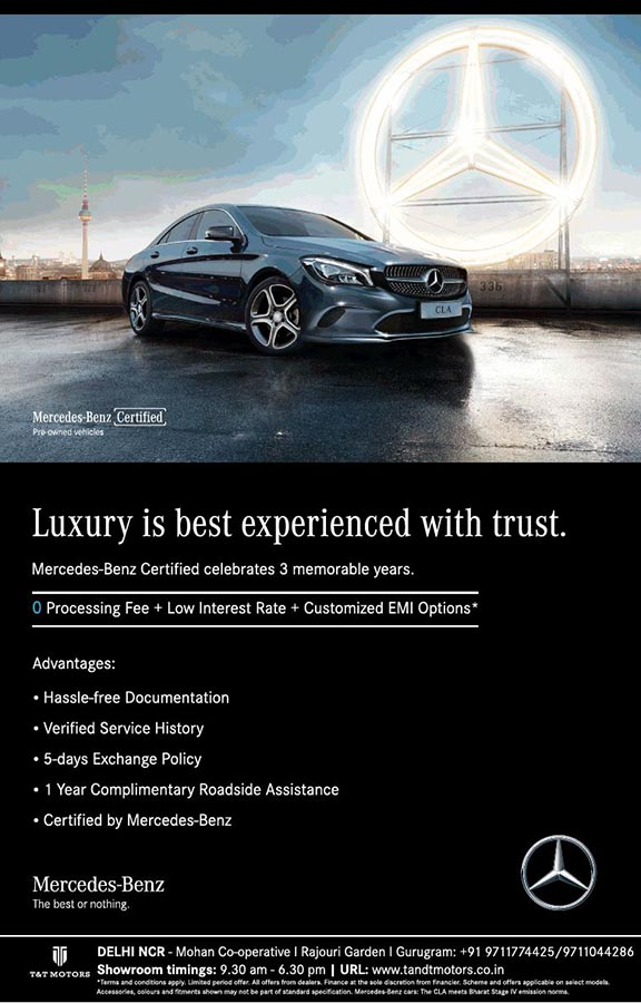Hyundai Certified Pre-Owned >> Mercedes-Benz Certified celebrates 3 years with zero processing fee & low interest rate ...