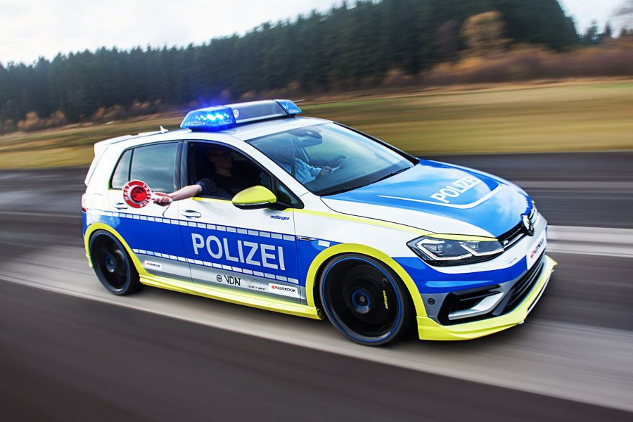 Volkswagen Golf 400r Police Car By Oettinger Tuning