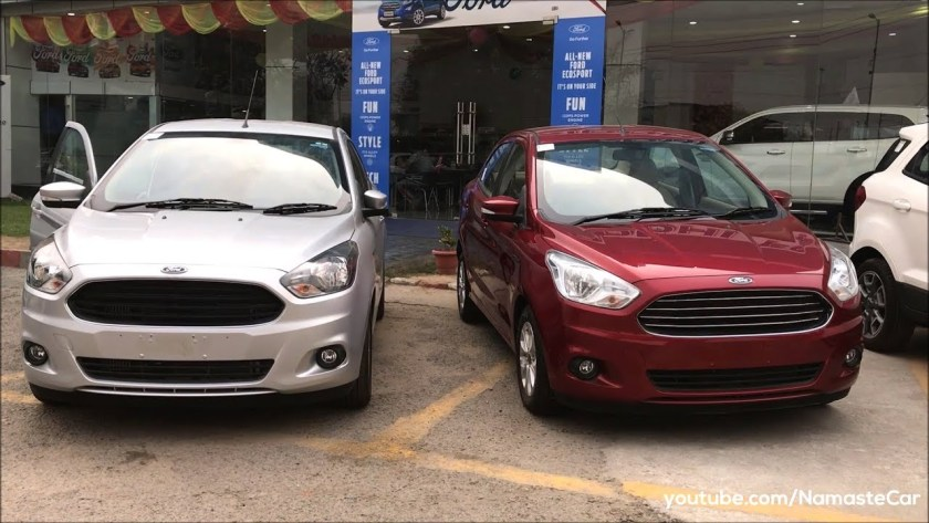 Ford Figo Aspire Titanium Sports Tdci  Review Specs And Details In Hindi