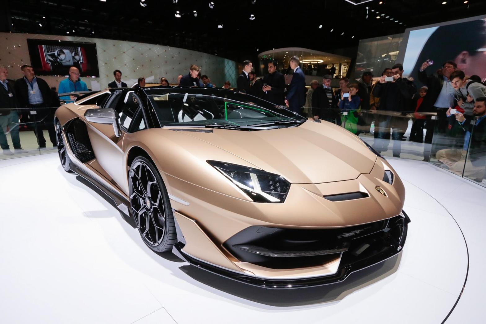 Lamborghini Aventador Svj Roadster Namaste Car