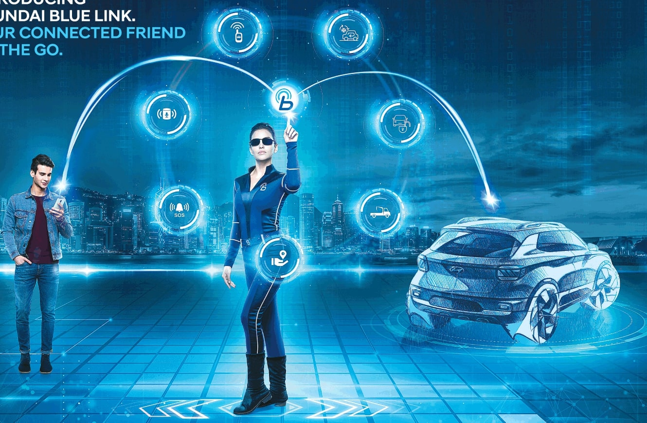 Hyundai Blue Link >> Hyundai Blue Link Connected Vehicle System Launched In India