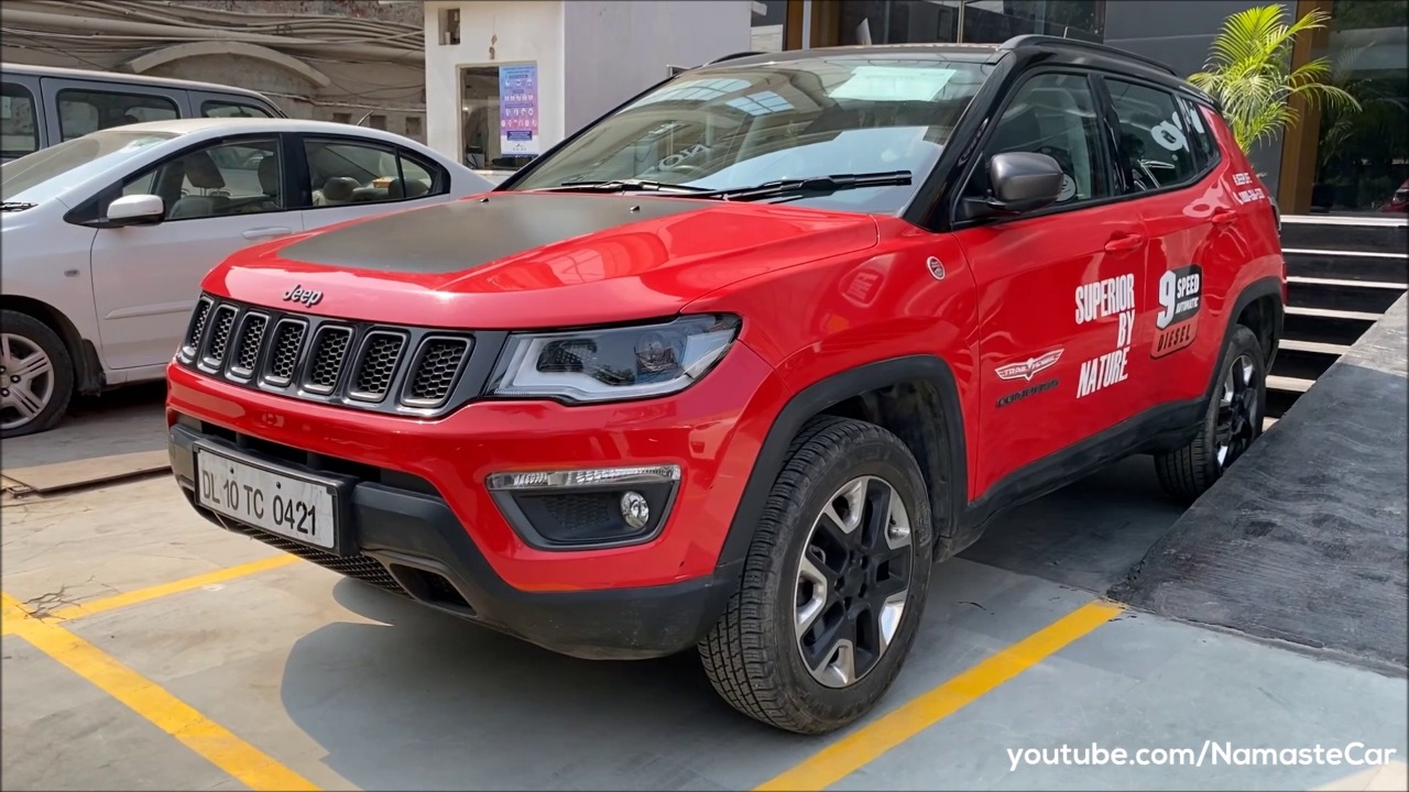 Jeep Compass Trailhawk 4x4 2020 Review Specs And Details In Hindi Namastecar