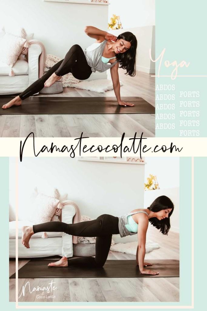 Séance de yoga pour renforcer ses abdos | Marie-France Pellerin | Namasté & Coco Latté