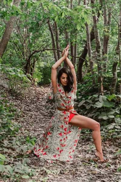 Yoga dans les bois - Marie-France Pellerin - Namasté & Coco Latté