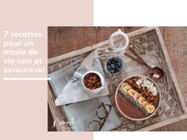 Ebook 7 recettes paléo saines | Namasté & Coco Latté