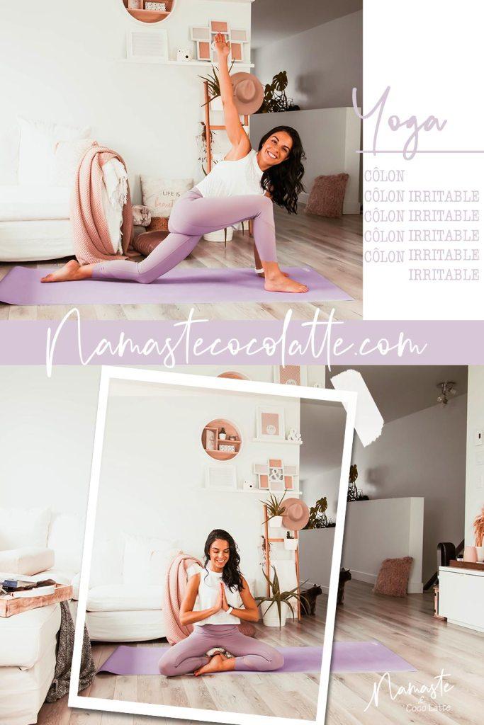 Routine de yoga pour soulager le côlon irritable | Namasté & Coco Latté