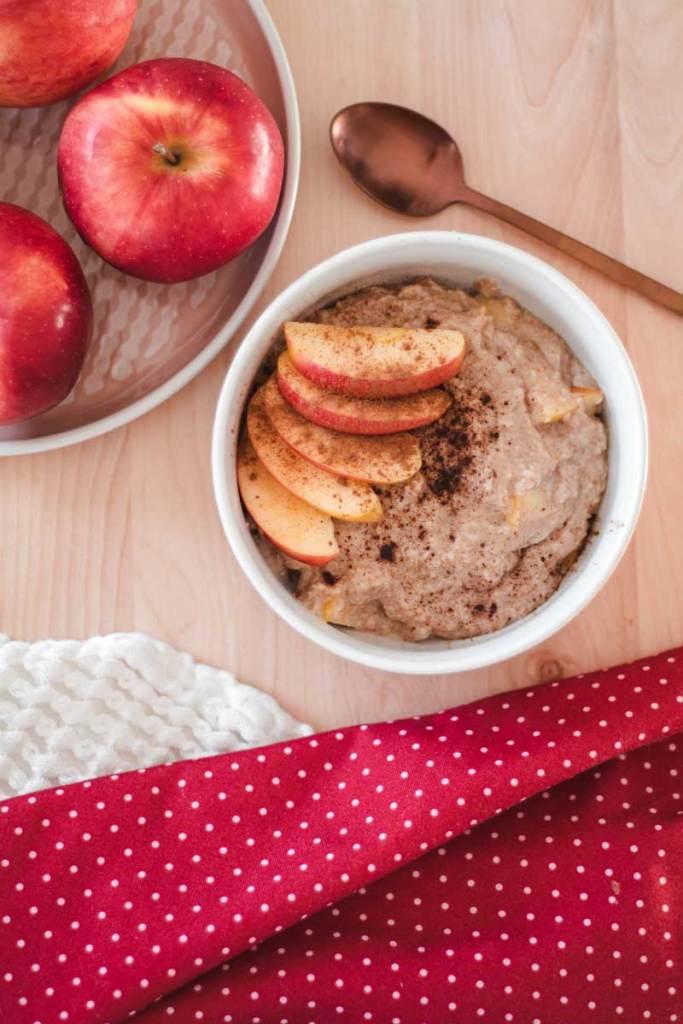 Recette | Porridge paléo pommes et cannelle