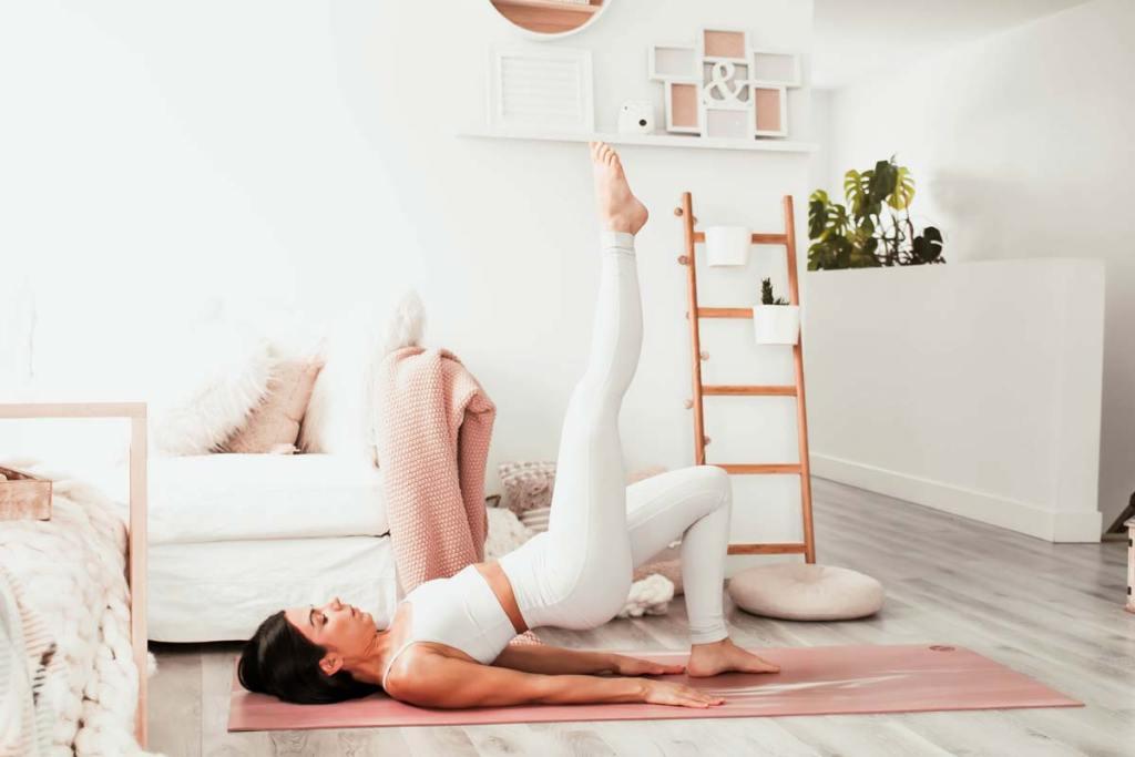 Routine de yoga pour corriger l'antéversion du bassin | Namasté & Coco Latté