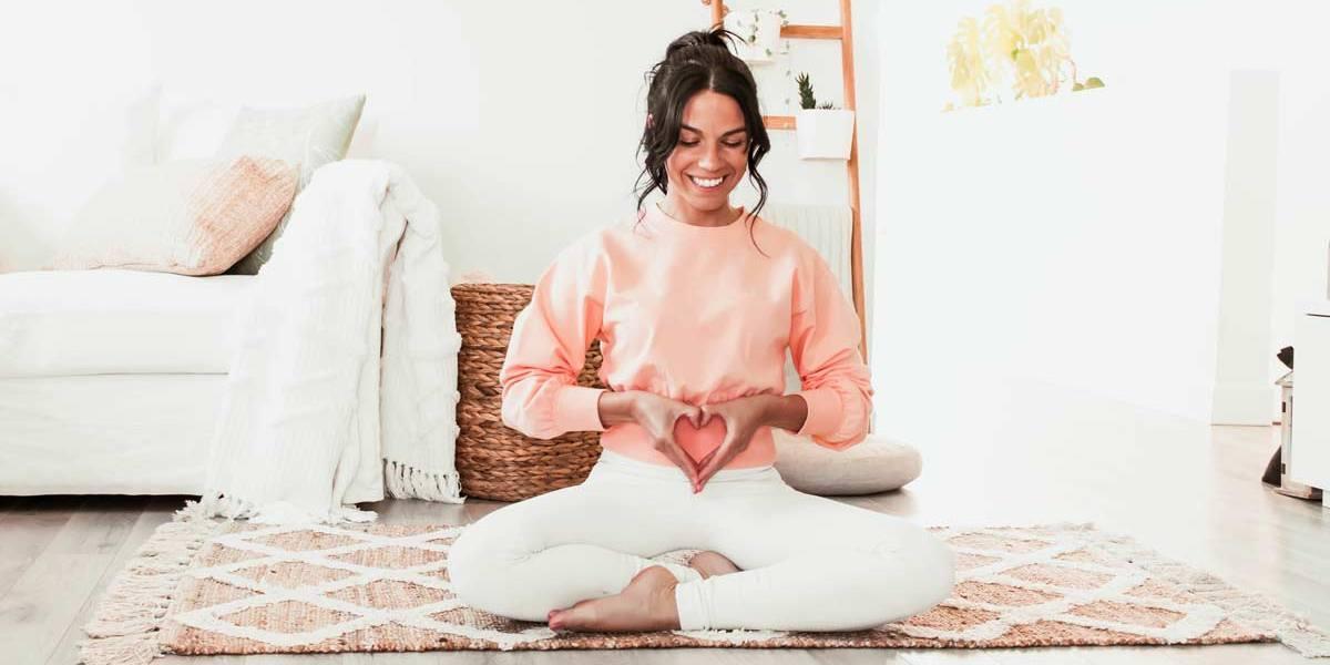 Séance de yoga restauratif pour soulager l'intestin irritable