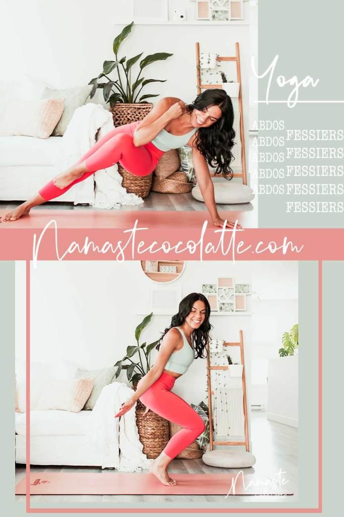 Yoga actif pour muscler abdos et fessiers   Namasté & Coco Latté