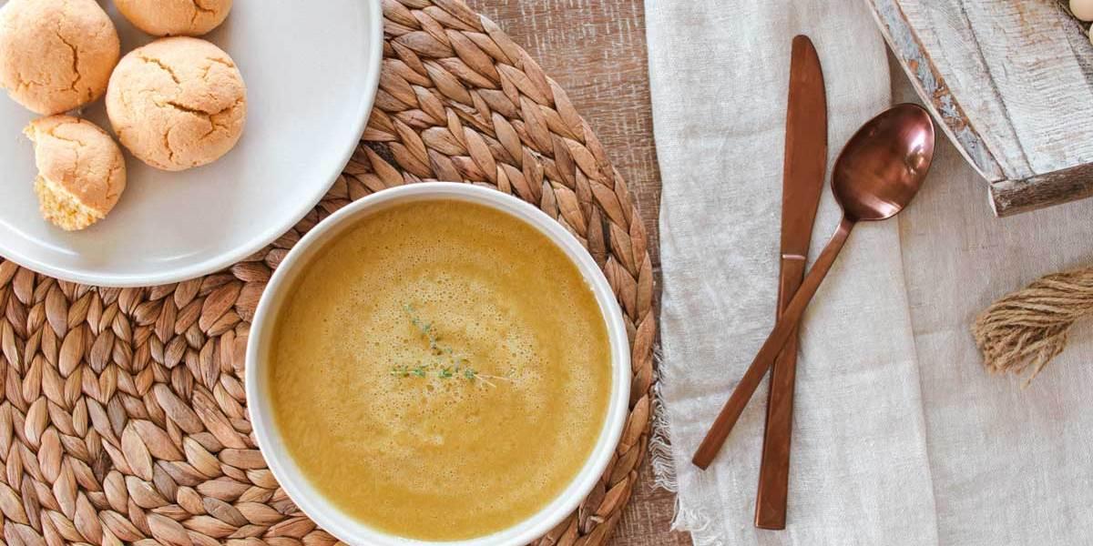 Recette | Potage de poires et de poireaux