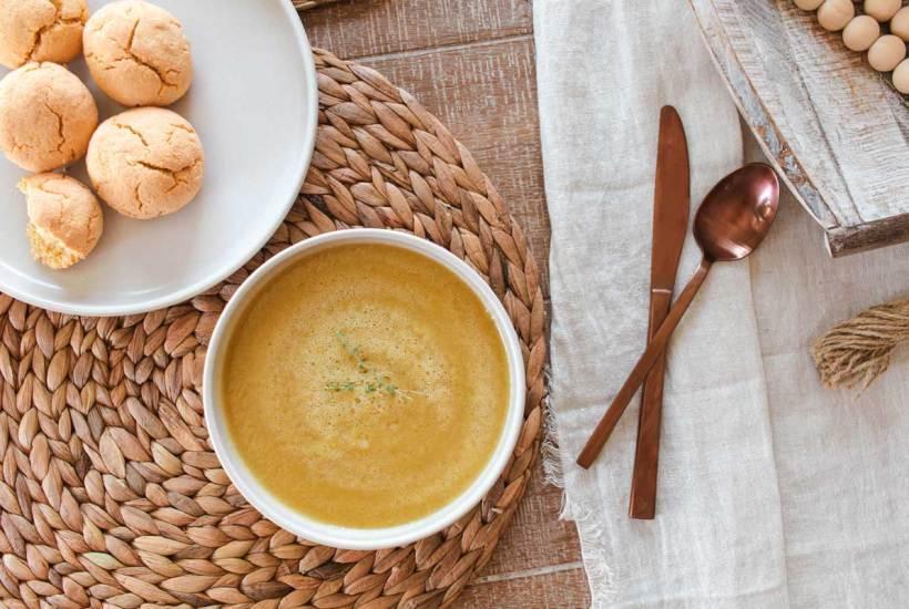 Recette   Potage de poires et de poireaux   Namasté & Coco Latté