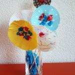 Cupcake Liner Blossoms