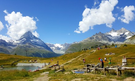 Wolli's adventure park at Sunnegga, Zermatt