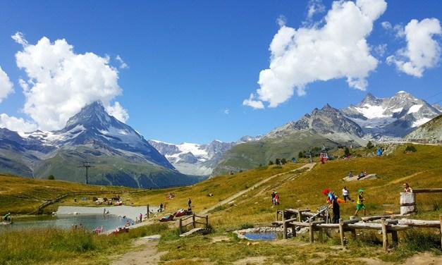 Wolli's adventure park at Sunnegga, Zermatt
